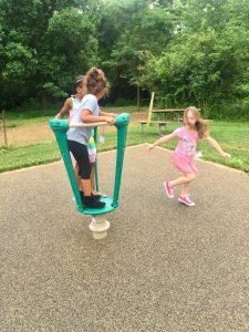 Three Children Playing